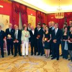 Homenajeados del Premio nacional gastronomía 2010, Teatro Real