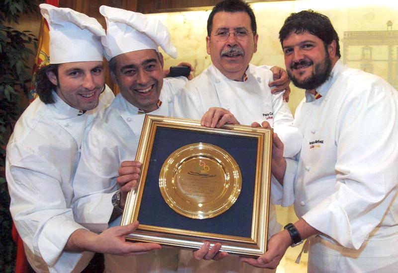 GANADOR DE LA COPPA DEL MONDO DELLA GELATERIA 'LA GELATO IN TAVOLA 2007'